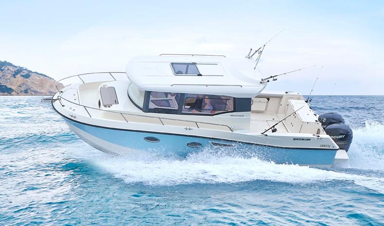 embarcacion de pesca y paseo Quicksilver 905 captur pilothouse, ocasion